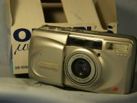 '    105G -MINT-BOXED- ' Olympus Zoom 105G Quality Compact Camera   -MINT- £19.99